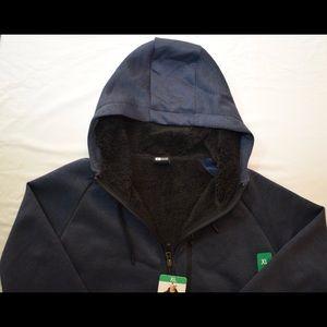 32 Degrees Fleece Sherpa Lined Hoodie XL
